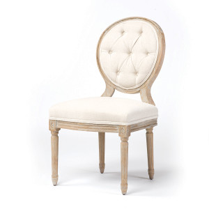 Stella Vintage French Tufted Dining Side Chair
