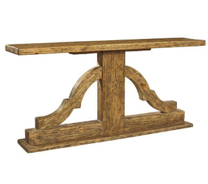 """Bracket Solid Wood Console Table 72"""""""