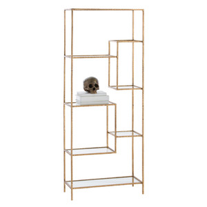 Worchester Gold Leaf Display Etagere