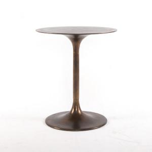 Tulip Side Table - Antique Rust