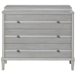 Sojourn French Country 3 Drawer Hallway Chest - Gray