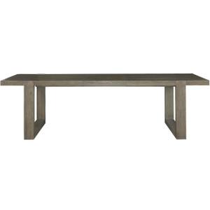 "Portobello Modern Oak Extension Dining Table 84"""