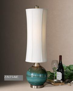 Atherton Blue Ceramic Table Lamp