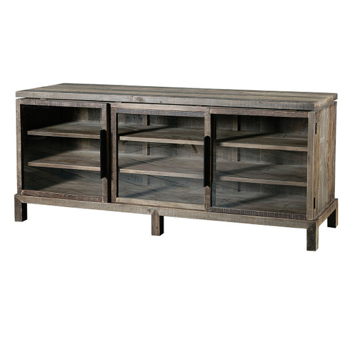 Angora Media Console 72   Quick view  Angora Furniture Collection. Rustic Reclaimed Wood Console   Sofa Tables   Zin Home
