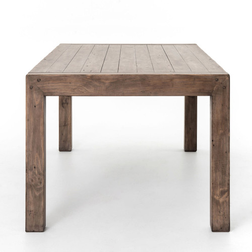 Parsons Modern Reclaimed Wood Dining Table Zin Home