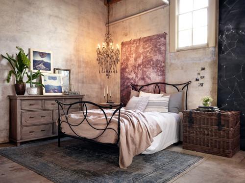 ... Sierra Rustic Solid Reclaimed Wood Bedroom Dresser ...