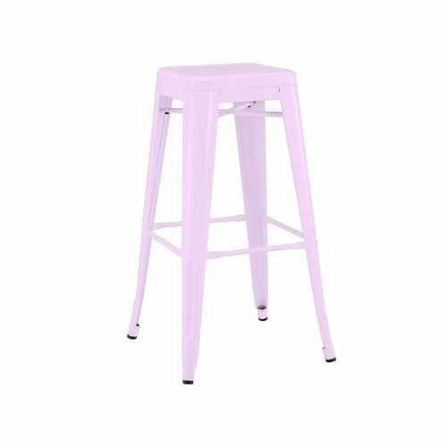 French Industrial Metal Bar Stools Zin Home