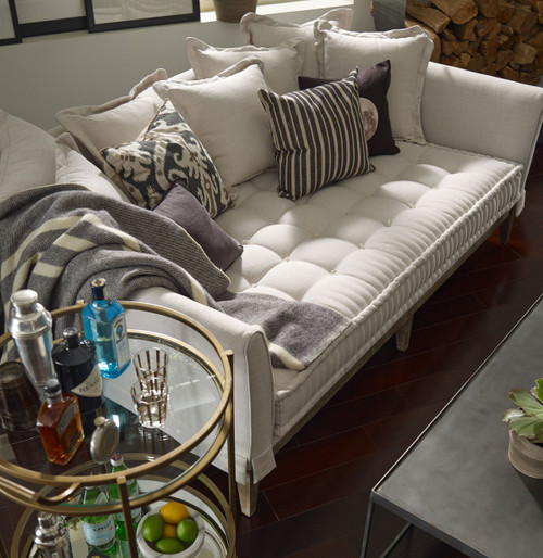 ... Theory Upholstered daybed couch ...