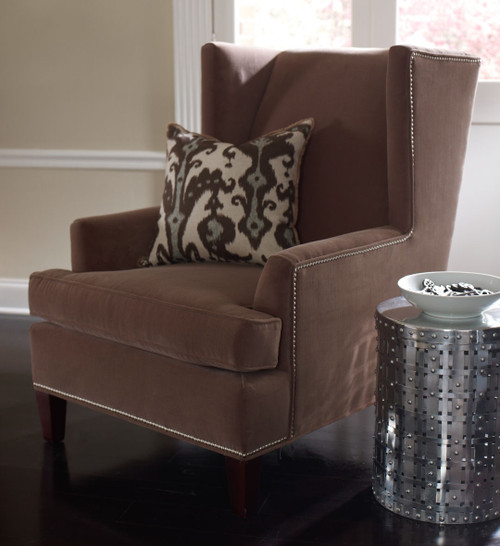 ... Marlow Woven Round Aluminum Accent Table Furniture ...
