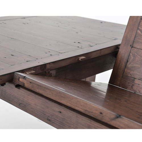 extending dining room tables. Coastal Reclaimed Wood Extension Dining Table 96    Zin Home