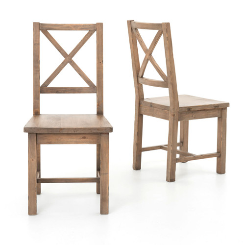 strong dining room chairs | Coastal Rustic Solid Wood Dining Room Chair | Zin Home
