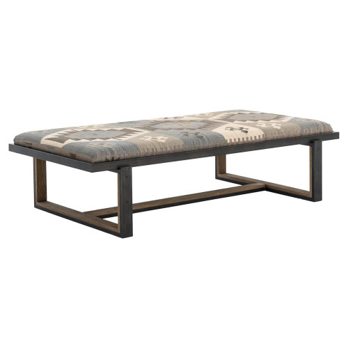 Industrial Coffee Table Ottoman: Eclectic, Modern & Industrial Style Furniture