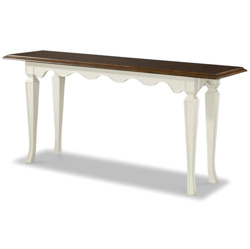 Sonoma Vintage White Console Table