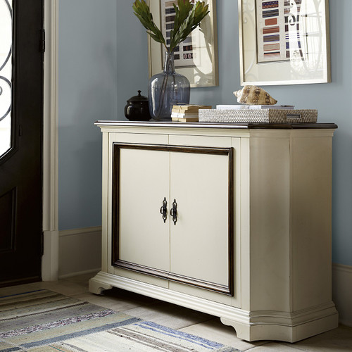 hall console cabinet. Sonoma Vintage White Hall Console Cabinet O