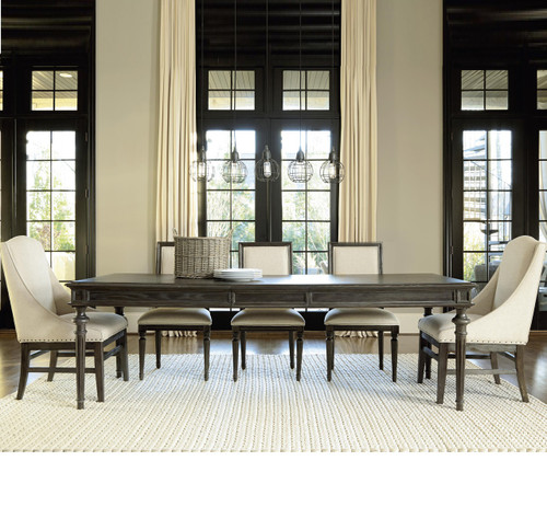 Extending Dining Table   French Country Dining Room Set. French Oak Tribeca Turned Leg Extending Dining Table 78    Zin Home