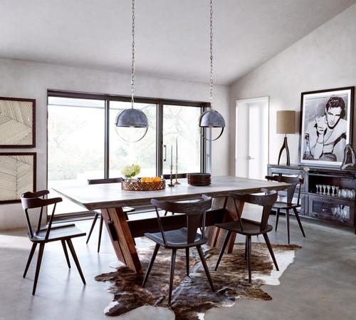 Ripley Black Oak Windsor Dining Chair | Zin Home