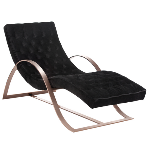 Chaises and daybeds chaise lounge chairs leather for Bella flora double chaise lounge