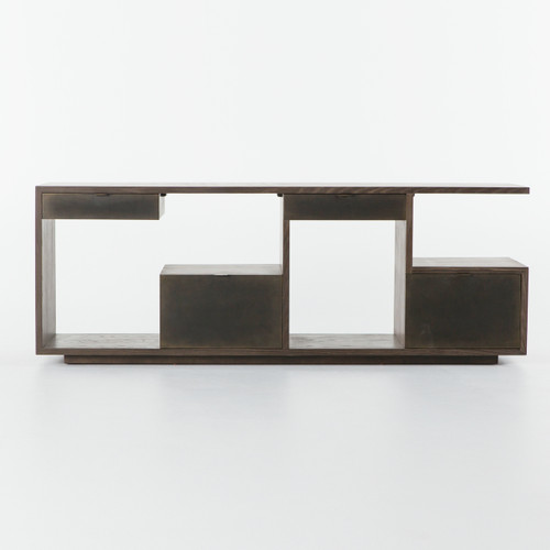 Franklin 3 Drawer Console Zin Home