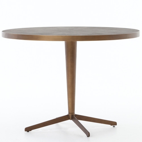 Hollywood Modern Shagreen Round Bistro Table Brass 42  : VBEN 006PRM1359831504841278 from www.zinhome.com size 500 x 500 jpeg 24kB