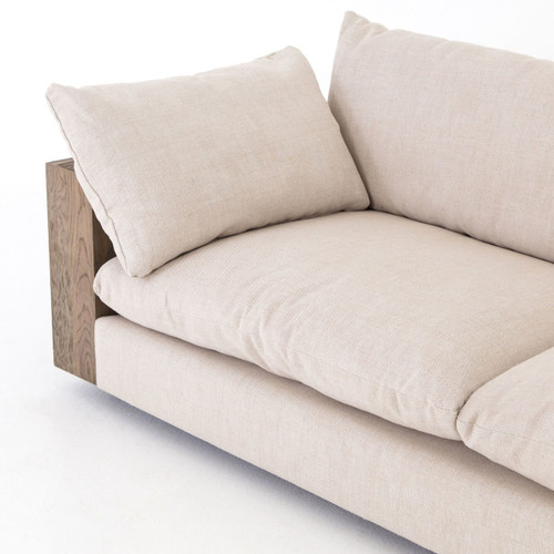 wood frame couch with removable cushions - Wood Frame Couch