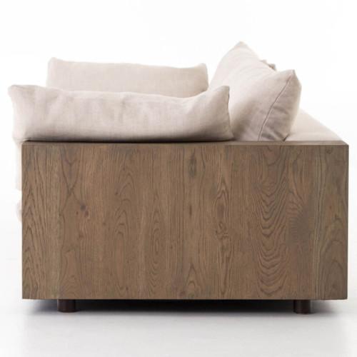 wood frame sofa with loose cushions - Wood Frame Sofa With Cushions