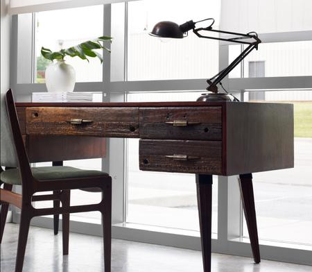 Mitchell Desk Rustic Modern Home Office Desks Zin Home