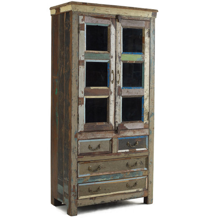 Shabby Chic Hutch Cabinet Zin Home