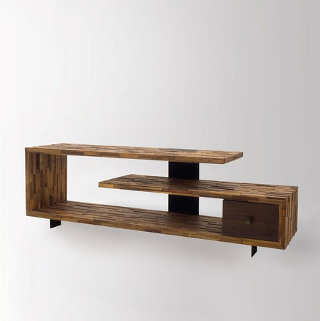 Jonah Reclaimed Wood Tv Console Table Zin Home