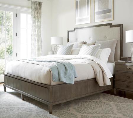 playlist king size upholstered platform storage bed zin home. Black Bedroom Furniture Sets. Home Design Ideas