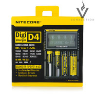 Nitecore D4 Intellicharger Digital Universal Battery Charger