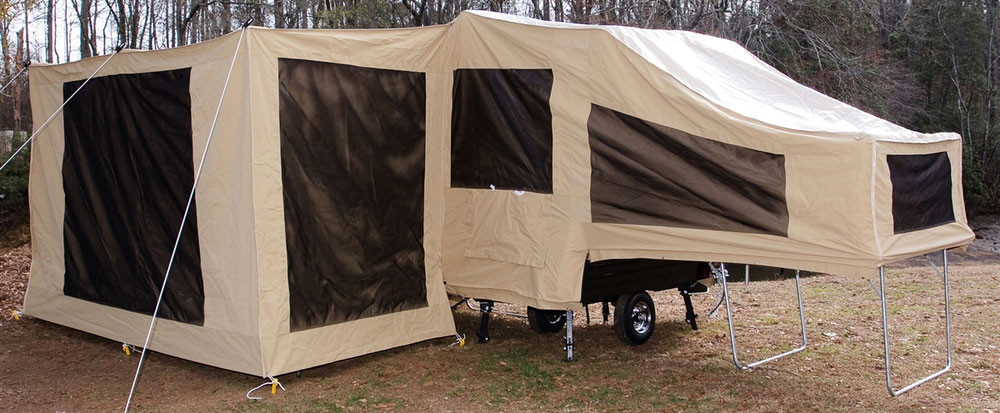 Solace Motorcycle Camper Screen Room The Usa Trailer Store