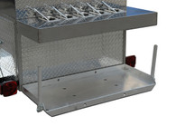 Big One Hot Dog Cart cooling rack add on