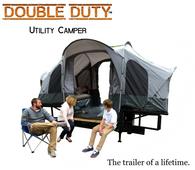 Double Duty Utility Camper Trailer