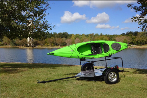 Folding Kayak and Bike Adventure Trailer