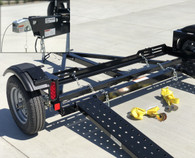 EZ Haul Car Tow Dolly with Hydraulic Brakes
