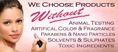 All Natural Cosmetics and Skin Care