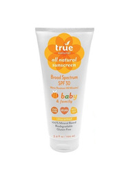 True Natural Baby & Family Sunscreen SPF30