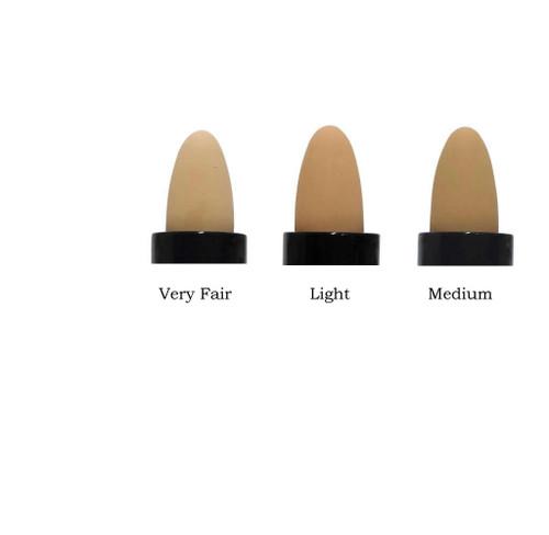 Pure Anada Cream Concealer color chart.