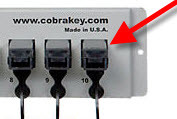 Cobra Cabinet Key Unit Replacement