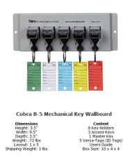 Cobra Mechanical WallBoards 5 Unit Cobra Key System