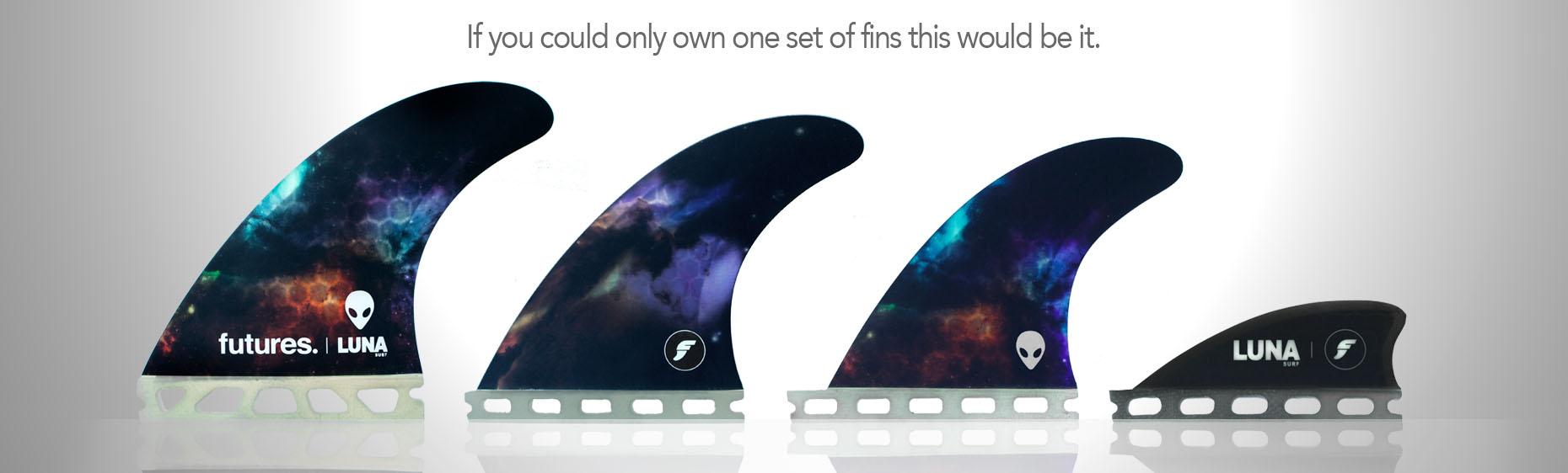 Lunasurf Futures fins
