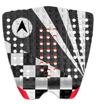 ASTRODECK 808 John John Tail Pad Black White Tail Pad