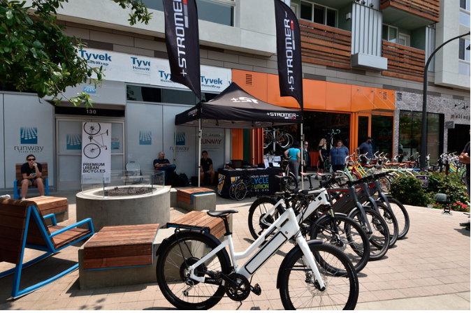 Runway Playa Vista Bike Attack Store ebike cycling
