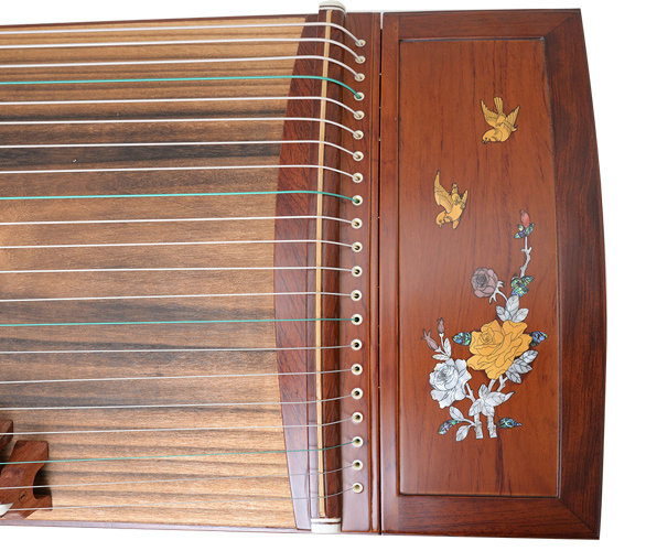 Professional Level Red Sandalwood Guzheng Instrument Chinese Koto Gu Zheng