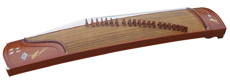Professional Level Red Sandalwood Guzheng Instrument Chinese Zither Harp