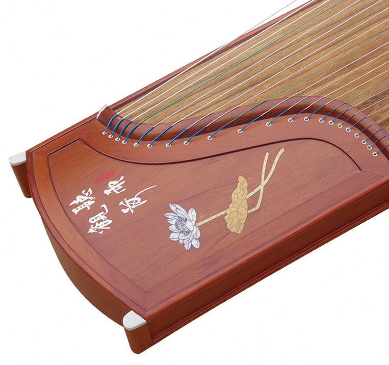 Professional Level Red Sandalwood Guzheng Instrument Chinese Zither Harp