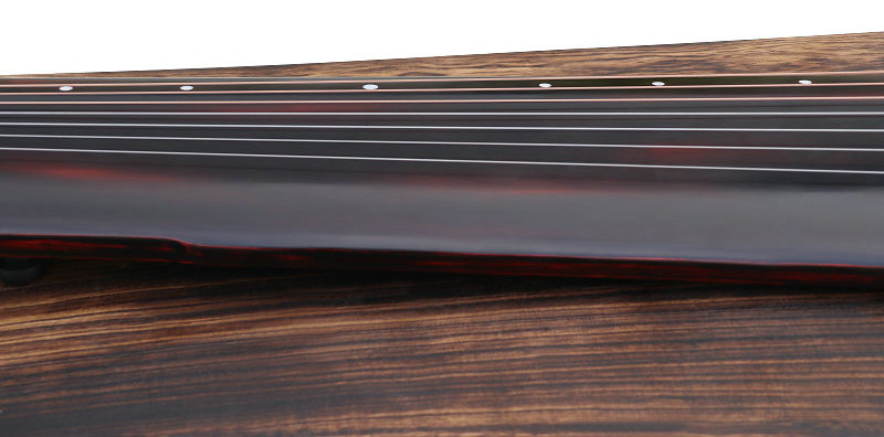 Professional Aged Fir Wood Guqin Instrument Chinese 7 String Zither Zhong Ni Style