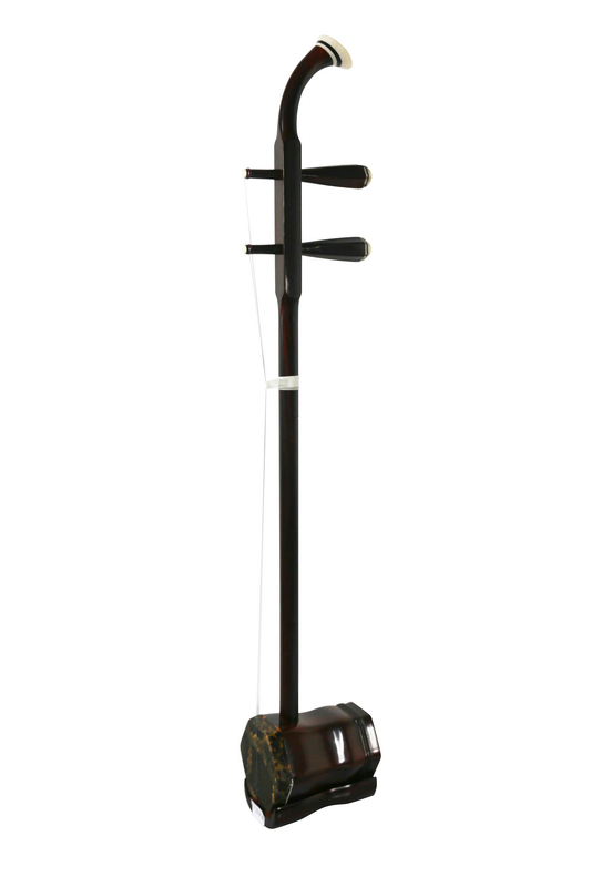 Professional Purple Sandalwood Erhu Instrument Chinese Voilin Fiddle With Accessories