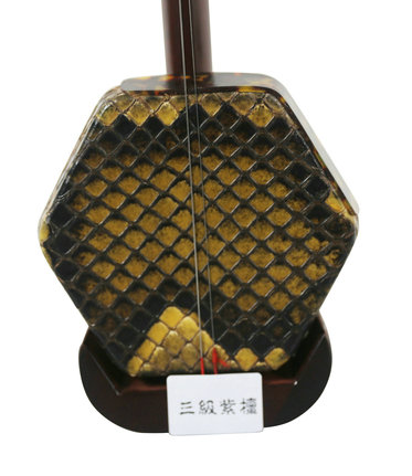 Concert Level Purple Sandalwood Erhu Instrument Chinese Voilin Fiddle With Accessories