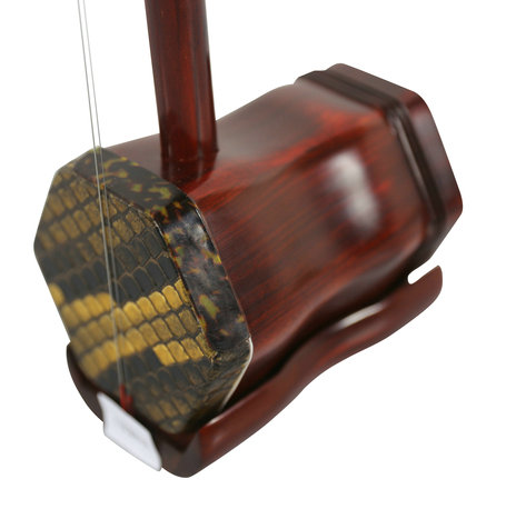 Premium Quality Purple Sandalwood Erhu Instrument Chinese Fiddle Voilin With Accessories